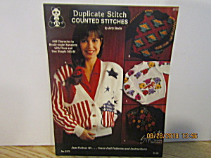 Design Original Duplicate Stitch Counted Stitches #2172