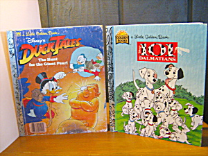 Golden Book Duck Tales & 101 Dalmatians
