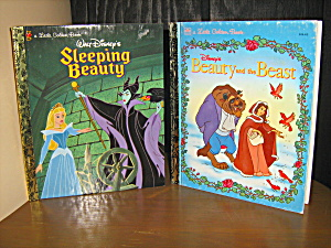 Golden Book Sleeping Beauty & Beauty And The Beast