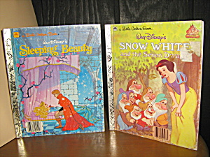 Golden Book Sleeping Beauty & Snow White