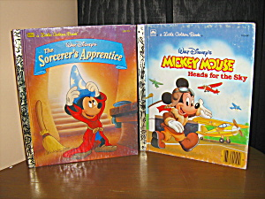 Golden Book The Sorcere's Apprentices & Mickey Mouse