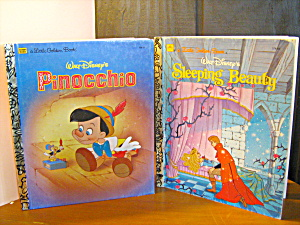 Golden Book Pinocchio & Sleeping Beauty