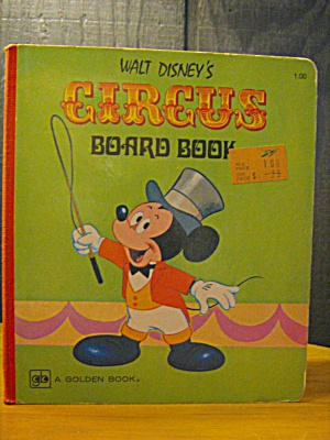 A Golden Book Circus Board Book