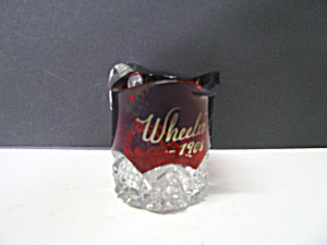 Duncan Miller Souvenir Ruby Tooth Pick Holder