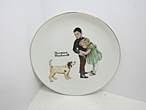 Norman Rockwell Classic Plate Big Brother