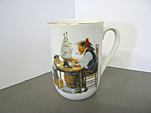 Norman Rockwell Classic Mug For A Good Boy