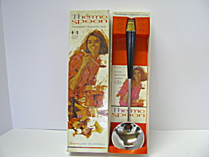 Vintage Thermo Spoon Combination Thermometer & Spoon