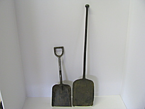 Vintage Railroad Shovel & Fireplace Shovel