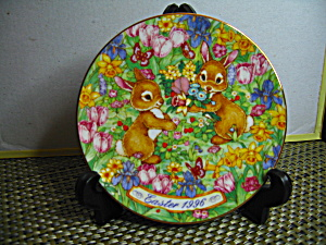 Avon Easter Bouquet 1996 Easter Plate