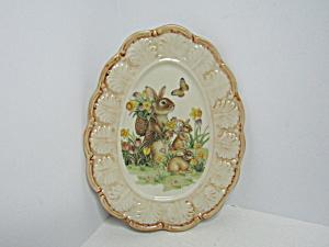 Cracker Barrow Easter TraditionsSmall Oval Platter (Image1)