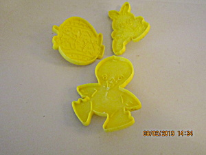 Vintage Wilton Easter Cookie Cutters Set