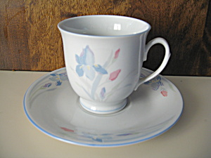 Excel Fresh Flower Cup And Saucer Set