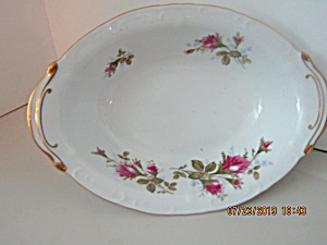 Vintage Finechina Of Japan Royal Rose Oval Serving Dish