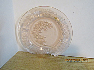 Vintage Federal Pink Cabbage Sharon Rose Bread Plate