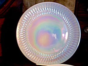 Vintage Federal Glass Moonglow Dinner Plate
