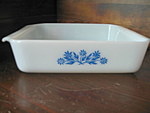 Vintage Fire King Cornflower Cake Pan