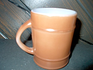 Fire King Large Brown Coffee Mug