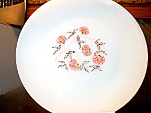 Fire King Fleurette Plate