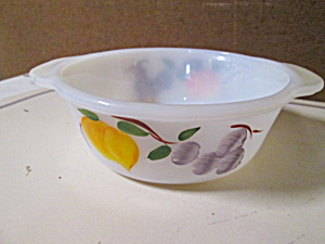 Vintage Fire King Individual Casserole Dish Gay Fad