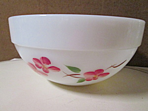 Vintage Fire King Gay Fad Blossom Mixing Bowl
