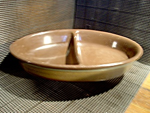 Franciscan Divided Vegetable Bowl