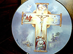 Limited Edition Plate The Life Of Christ