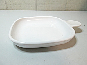 Corning Ware White 6 In. Grab-its Snack--it
