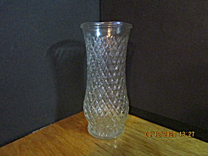 Vintage Flower Diamond Design Vase
