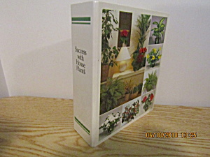 Vintage Garden Book Success With House Plants