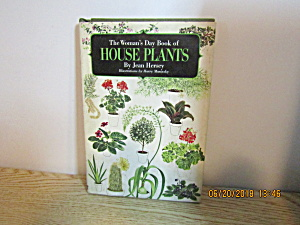 Vintage The Woman's Day Book Of House Plants