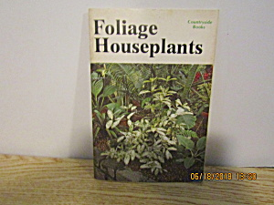 Vintage Countryside Booklet Foliage Houseplants