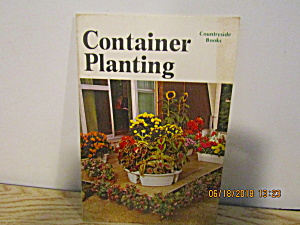 Vintage Countryside Booklet Container Planting