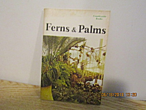 Vintage Countryside Booklet Ferns & Palms