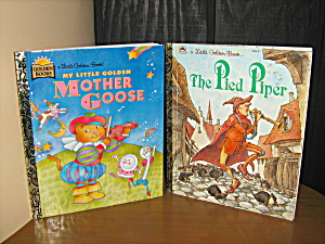 Goloden Book The Pied Piper & Mother Goose