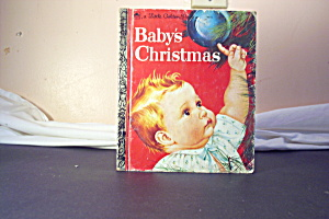 Little Golden Book Vintage Baby's Christmas