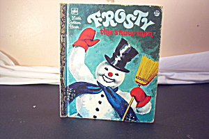 Little Golden Book Vintage Frosty The Snow Man 13th. (Image1)