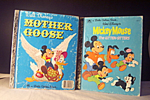 Little Golden Books Disney Set Of 2 Mickey Mouse Books