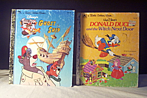 Little Golden Book Disney Talespin & Donald Duck