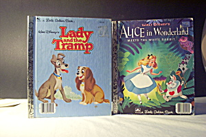 Lady In The Tramp & Alice In Wonderland
