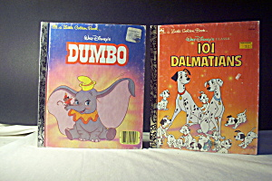 Little Golden Book Disney 101 Delmatians & Dumbo