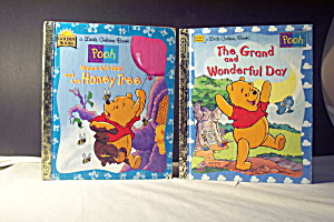 Little Golden Book Disney Set Of 2 Winnie The Pooh Book