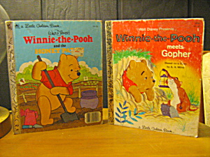 Little Golden Books Disney Set Of 2 Winnie-pooh Book