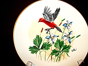 Platefleetwood Collection 12th Birds&flowersgorham