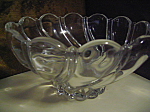 Vintage Lead Crystal Bowl