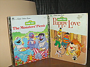 Sesame Street The Monsters' Picnic & Puppy Love