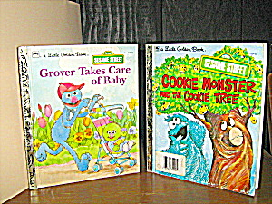 Cookie Monster,the Cookie Tree & Grover Take Care Baby