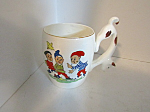 Vintage Nursery Rhyme Child Dog Handled Mug  (Image1)