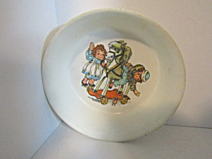 Vintage Child Melamine Raggedy Anna & Andy Bowl