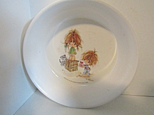 Vintage Childs Melamine American Greetings Urchins Bowl (Image1)