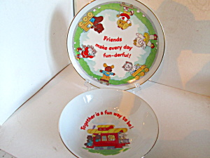 The Get Alone Gang Juvenile Dinnerware Set